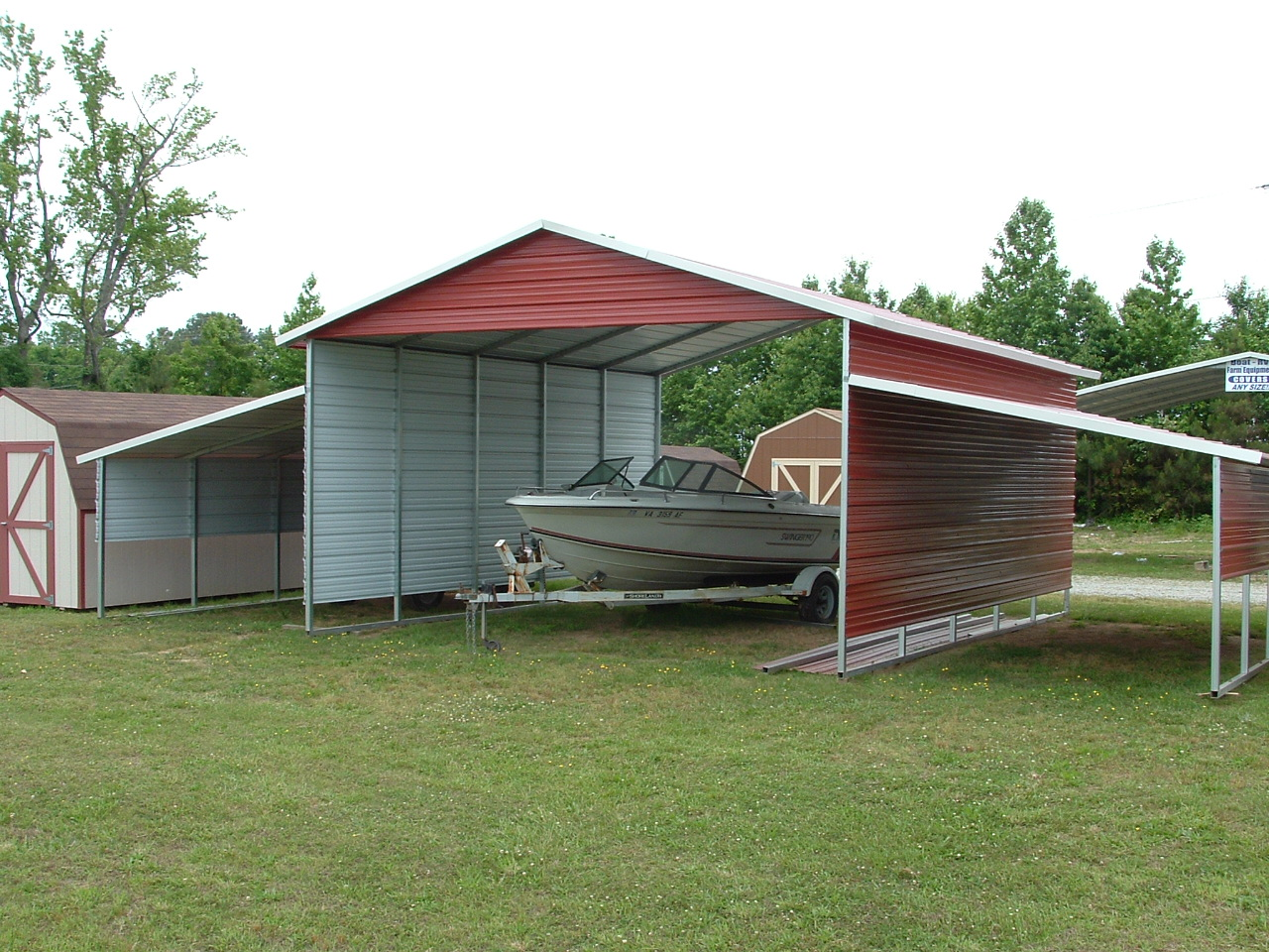 Metal Carport / Metal Garage Pictures by Disk Works Of ...