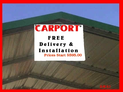 Metal Carports & Storage Buildings, sales in North ...